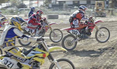 Compétition ou balade pour les motards